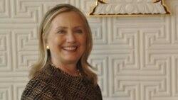 """Hillary Clinton: """"esperamos que la dictadura en Cuba termine pronto"""""""