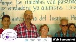 Leonardo Rodríguez, segundo de izquierda a derecha.