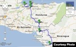 El departamento hondureño de Choluteca, fronterizo con Nicaragua, es uno de los puntos ciegos de la migración irregular.