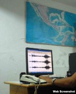 Sismos / Estación de monitoreo /Santiago de Cuba