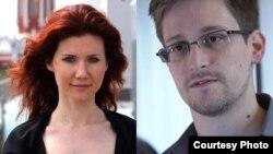 Anna Chapman y Edward Snowden