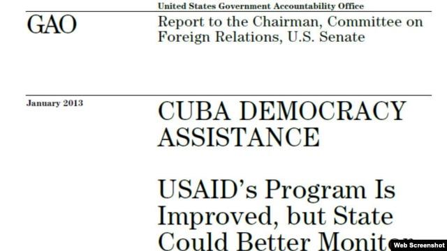 John Kerry pidió el informe en 2011. Los programas se concentran en la promoción de la sociedad civil y de la libertad de información.