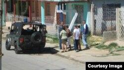 Detenciones en Cuba el 30 de julio 2017.
