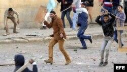 Disturbios en Egipto. Archivo.