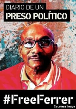 """""""Diario de un preso político"""" da voz al abogado independiente en prisión, Julio Ferrer Tamayo."""