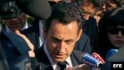 Foto de archivo del expresidente francés, Nicolas Sarkozy.