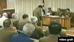 El tribunal de honor militar que juzgó a Arnaldo Ochoa.