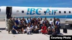 Llegada de cubanos a Australia