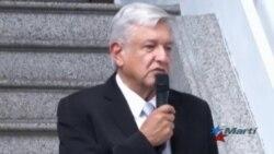"""López Obrador agradece """"actitud respetuosa"""" de Trump"""