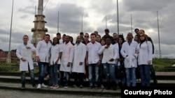 Médicos cubanos en Bogotá. (Archivo)