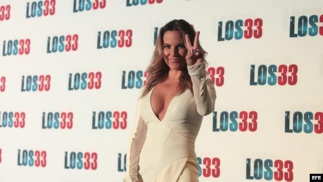 La actriz mexicana Kate del Castillo