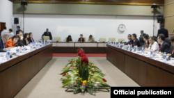 Reunión para la normalización de relaciones entre EEUU y Cuba