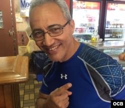 El entrenador cubano de boxeo Jorge Rubio.