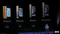 Apple presenta el iPhone 6, el iPhone 6 Plus y el iWatch