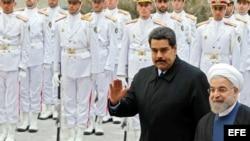 Presidente Maduro durante la gira por Irán