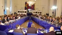 Foto de archivo. Vista general de la inauguración del 122 período ordinario de sesiones de la Comisión Interamericana de Derechos Humanos (CIDH).