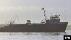 """El barco """"Ana Cecilia"""" llega a La Habana procedente de Miami"""