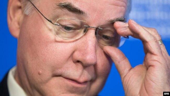 El secretario de Salud de Estados Unidos Tom Price renunció a su cargo en el gobierno.