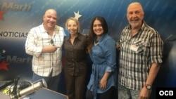 1800 Online con la actriz cubana Alis García y el actor y director Marcos Miranda