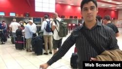 Las autoridades han prohibido viajar al exterior a Carlos Amel Oliva en cinco ocasiones. (Foto: 14yMedio)