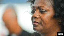 Berta Soler, la líder del movimiento opositor cubano Damas de Blanco