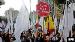 Así esperan los colombianos la hora final del acuerdo de paz