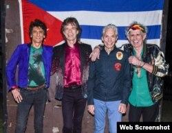 Los Rolling Stones en La Habana.