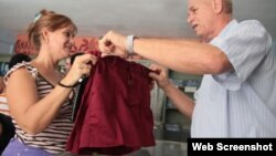 Cuba uniformes escolares tallas