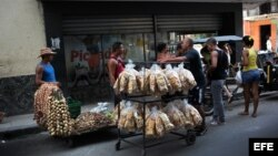 Vendedores ambulantes del sector privado.