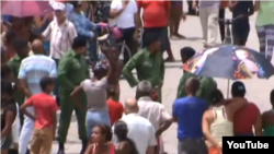 Reporta Cuba militares en santa clara 18 de agosto