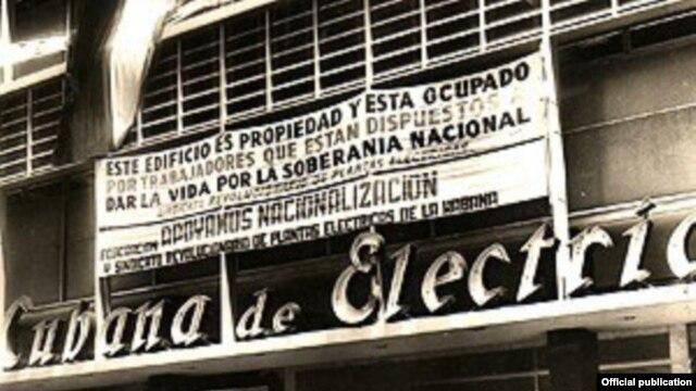 Embargo Cubana electric