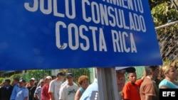 Consulado de Costa Rica en Managua, Nicaragua.