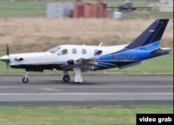 El Socata TBM-700 de Larry Glazer se estrelló en el mar al norte de Jamaica tras atravesar Cuba.