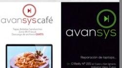 1800 Online con Avansys Café
