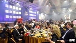 Lujosa cena acompaña subasta de Festival del Habano