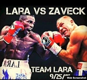 Erislandy Lara peleará con Jan Zaveck.