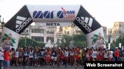 El Marabana, Maratón de La Habana. Foto archivo.