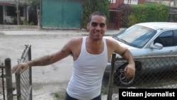 El grafitero Danilo Maldonado, El Sexto, tras ser liberado el 21 de enero de 2017.