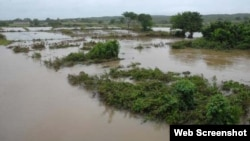 Lluvias en Pinar del Río