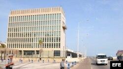 Sección de Intereses de Estados Unidos (SINA), en La Habana (Cuba).