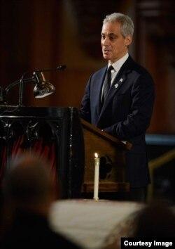 El alcalde de Chicago, Rahm Emanuel.