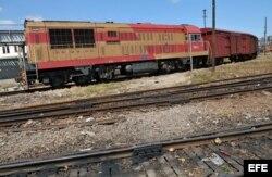"""El transporte ferroviario de Cuba enfrenta una situación """"paupérrima"""". EFE"""