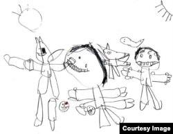 """Una ilustración del libro """"Abuela #1""""."""