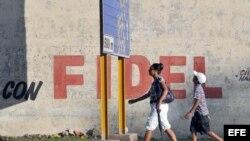Calle en La Habana, Cuba