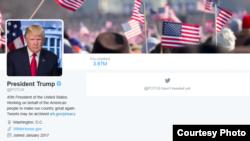 Twitter de Trump POTUS