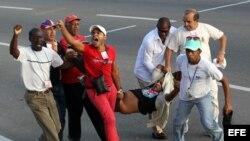 Daniel Llorente fue detenido el 1 de Mayo en la Plaza José Martí