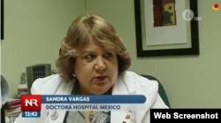 Doctora Sandra Vargas.