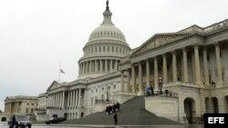 Edificio del Senado en el Capitolio de EEUU, Washington DC.