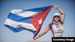 Iliana Hernández Cardosa en el Marathon des Sables
