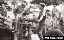 Fidel Castro, crisis de los misiles. Tomado de Juventud Rebelde.